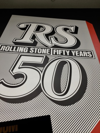A highlight for me was the special exhibit on the 50th anniversary of Rolling Stone magazine.